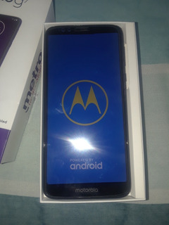 Teléfono Motorola Moto G7 Color Azul ($170)