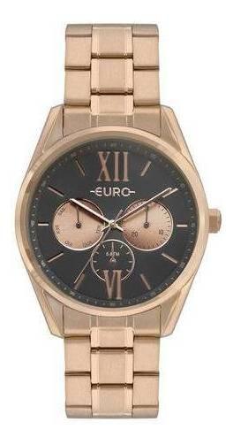 Relógio Euro Construções Feminino Rose Eu6p79ae/4c
