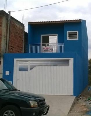 Sobrado A Venda Em Franco Da Rocha, Vila Dos Comerciários, 2 Dormitórios, 2 Banheiros, 2 Vagas - 2830