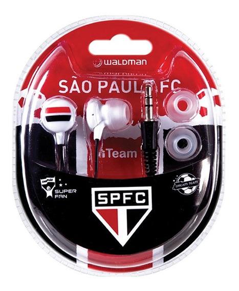 Fone De Ouvido Para Celular Ou Smartphone C/ Logo Sao Paulo