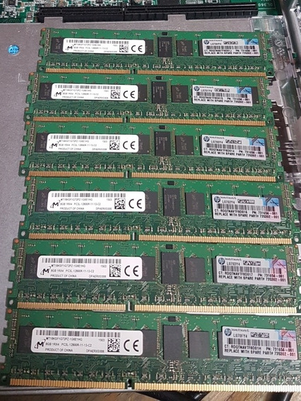Memorias Server Proliant G8