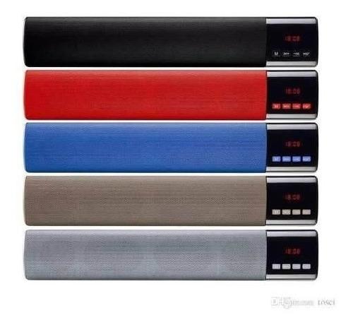 Barra Sonido Parlante 40cm Bluetooth Fm Sd B28s Colores