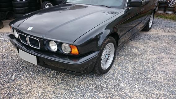 Bmw Preta E34 540i V8 De 286hp Automatic Modo Esport