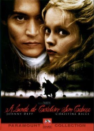 Dvd A Lenda Do Cavaleiro Sem Cabeça Original