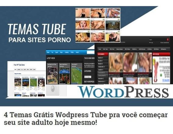 4 Temas Wodpress Tube Site Adulto