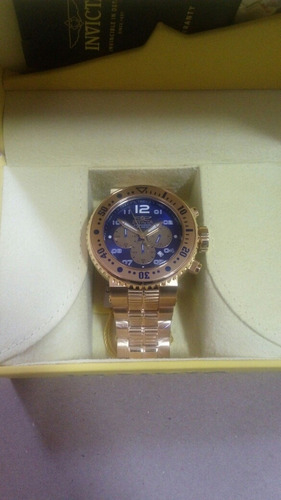 Relógio Invicta Pro Diver 255077 Dourado Masculino