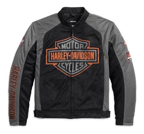Harley Davidson Jaqueta Bar & Shield Original Importada Eua