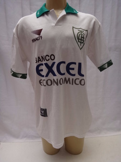 Camisa De Futebol America Mineiro 1997 # 10 Excel Penalty
