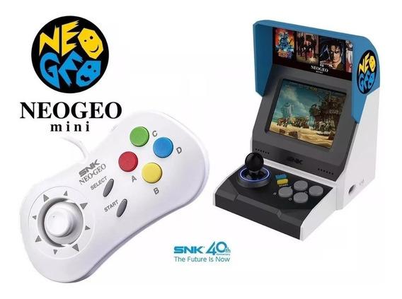 Neo Geo Mini Classic Edition +1 Joystick Controle Arcade Snk