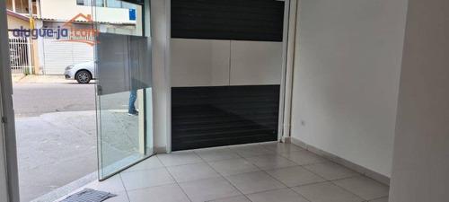 Salão Para Alugar, 30 M² Por R$ 1.100,00/mês - Jardim Satélite - São José Dos Campos/sp - Sl0104