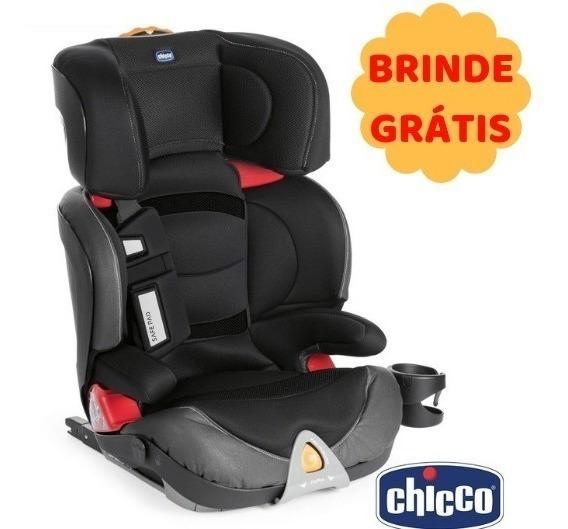 Cadeira Para Auto Chicco Oasys Fixplus Evo Isofix Jet Black