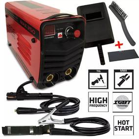 Maquina De Solda Inversora 2 Em 1 250 Amperes Eletrodo E Tig