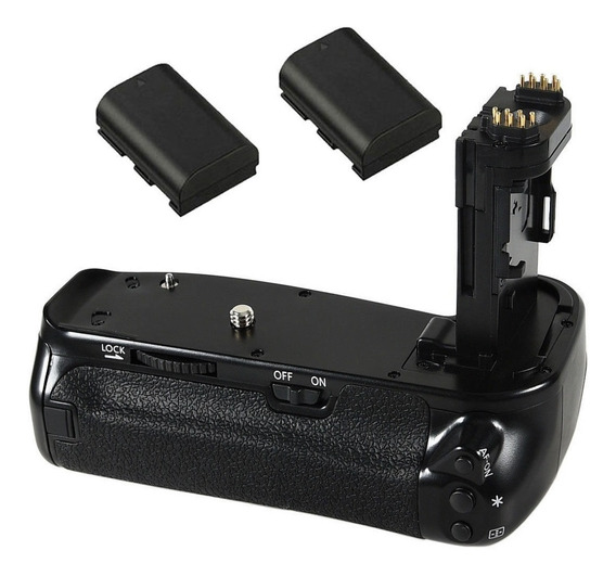 Grip Camera Canon Eos 6d Mark Ii + Baterias Pronta Entrega