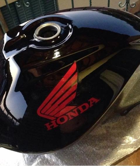 Tanque Combustível Moto Honda Cg125 Fan Preto 2011 A 2013