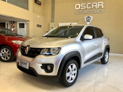 Renault Kwid 1.0 66cv Intense Full Año 2018 Gris Claro Nuevo