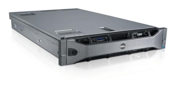 Servidor Dell Poweredge R710 2xeon 2x Hds Sas 600gb 10k 32gb