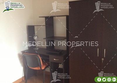 Arrendamientos De Apartamentos En Medellín Cód: 4674