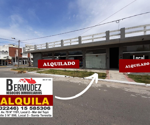 Alquiler Anual De Locales Comerciales En Mar Del Tuyu Centro