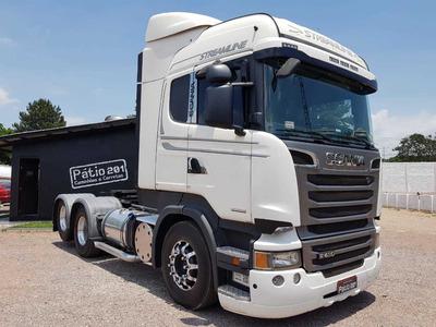 Caminhão Scania R 440 Streamline 6x2 - Opticruise - Trucado