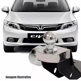 Engate Reboque Honda Civic 2012 2013 2014 2015 2016 Inmetro
