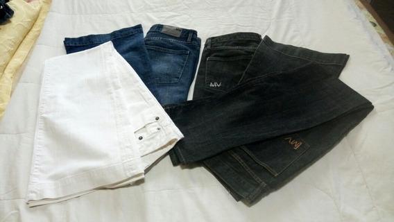 Pantalones De Jean Marca Maria Vazquez