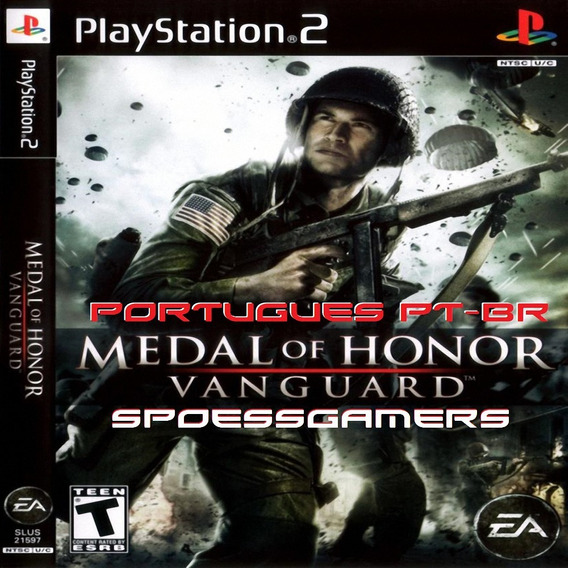 Medal Of Honor Vanguard Portugês Ps2 Desbloqueado Patch