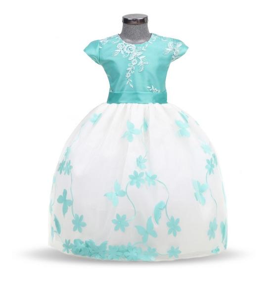 Batita Vestido Para Bebé Elegante Modelo 771