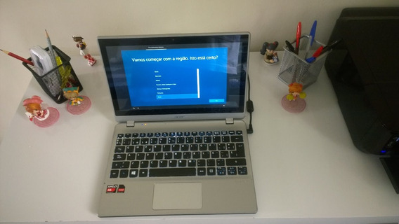 Notebook Acer V5 Amd A6 1450 Quad-core 6gb Touch Retroilumin