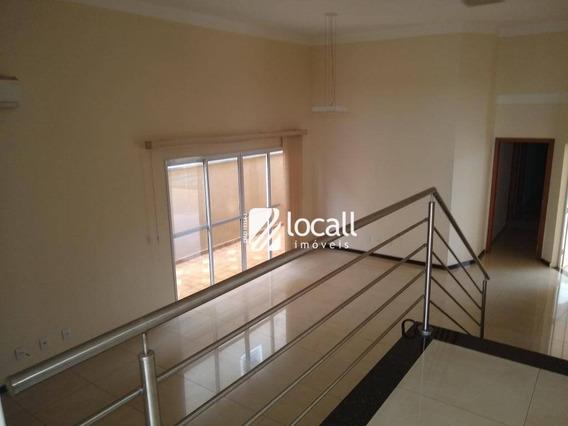 Casa Com 4 Dormitórios Para Alugar, 250 M² Por R$ 3.700/mês - Parque Residencial Damha Iv - São José Do Rio Preto/sp - Ca2071