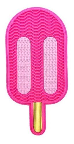 Imagen 1 de 4 de Limpiador De Brochas Helado Ice Cream Goma Brush Clear