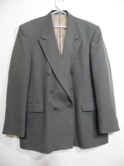 Saco Vestir Traje Talla 46l Verde Olivo Executive K9