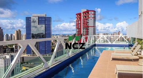 Apartamento Com 1 Dormitório À Venda, 34 M² Por R$ 199.000,00 - Caminho Das Árvores - Salvador/ba - Ap2868