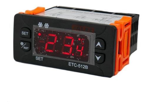 Termostato Digital Ref/cal + Descongelamiento Alre Etc-200+