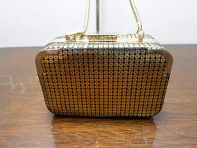 Bolsa Dourada Original Armani