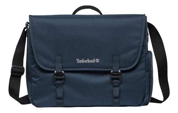 Bolsa P/laptop Timberland Azul Marino Tb0a1lrd019 Unisex