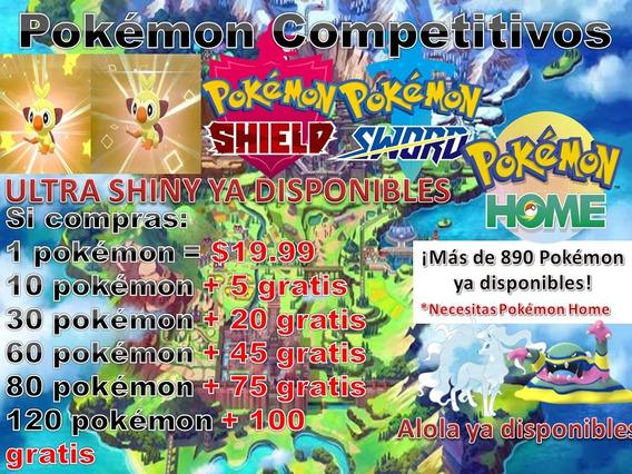 Pokémon Competitivos Sword Y Shield