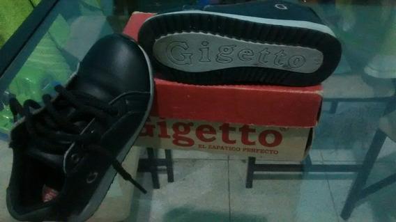 Zapatos Gigetto Gris Talla 26 (poco Uso)