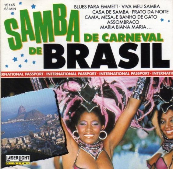 Varios / Samba De Carneval De Brasil ( Usa ) Cd Original