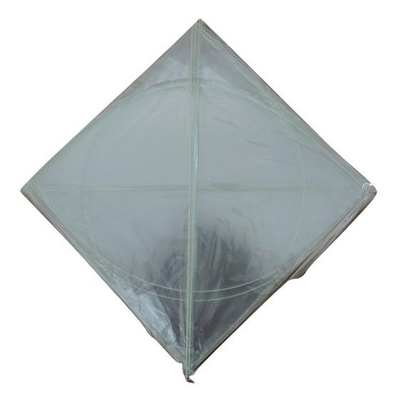 Raia Transparente 35x35 Pipa Plastico Pct Com 20unid Atacado