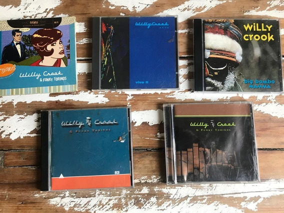 Lote Cd Willy Crook & The Funky Torinos