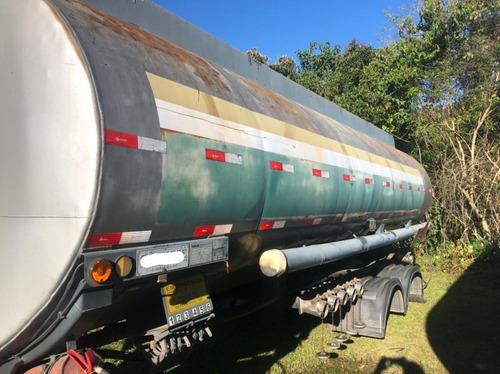Tankar Tanque Aço 25 Mil Litros 6 Bocas 2014