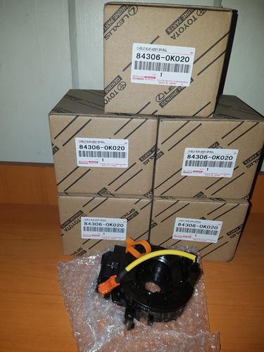 Cable Espiral  Fortuner/hilux/kavak Hasta 2012orig Toyota