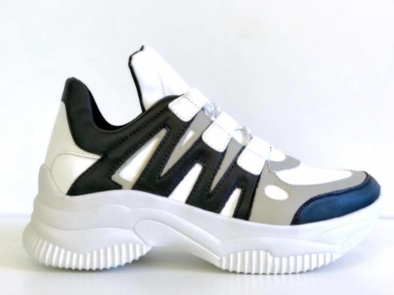 Tênis Casual Chunky Dad Sneaker Sola Alta Flatform Caminhada Moda Original Envio Imediato Preto Pink Lançamento12x