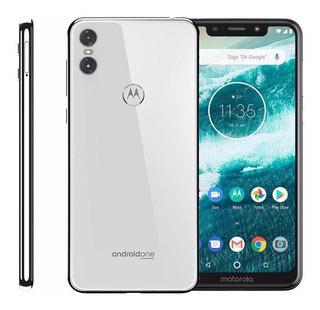Celular Motorola Moto One 64gb 5.9 13mp+2mp - Branco