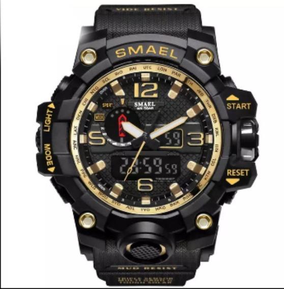 Relógio Masculino Smael 1545 Militar Original Várias Cores