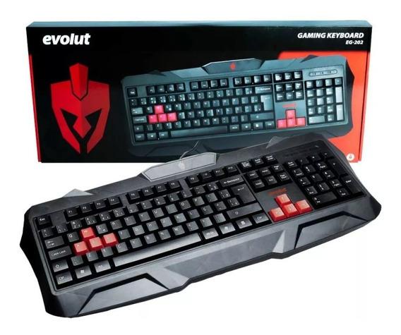 Teclado Gaming Keyboard Eg-202 - Evolut
