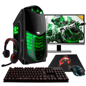 Pc Gamer G-fire Amd A4 7300 4gb 500gb Monitor 21 Hd8470d 1gb