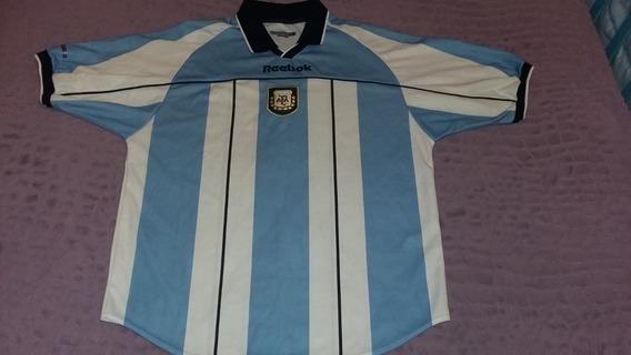 Camiseta Reebok Selección Argentina 2001