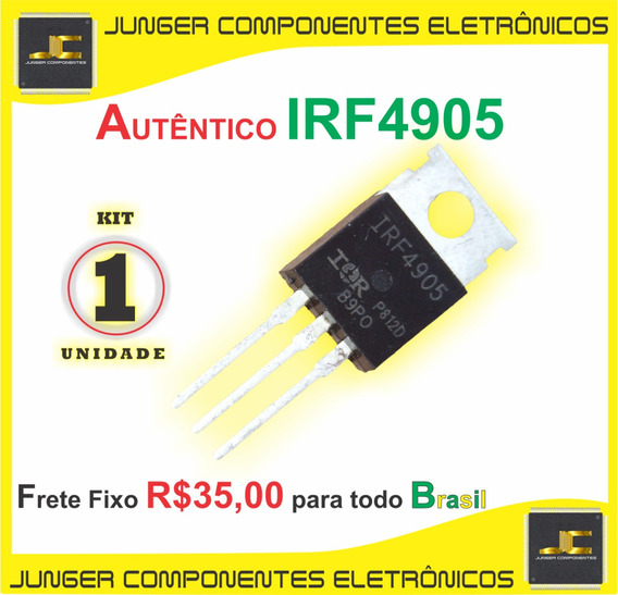 Transistor Amplificador Mosfet, Irf4905pbf, Irf4905,irf4905