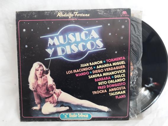 Musica Y Disco Varios Tormenta Sandra Mihanovich Vinilo Nm